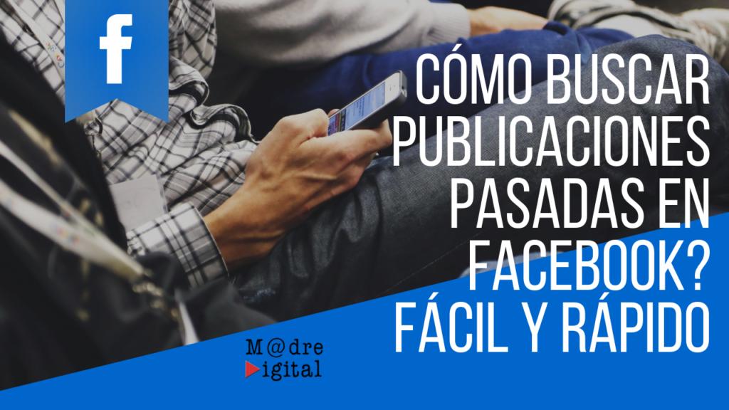 Buscar publicaciones en Facebook